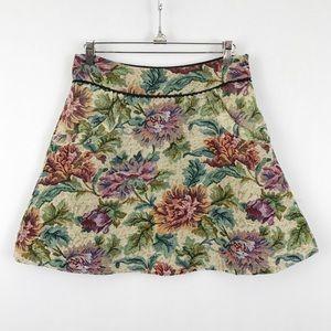 Free People Carpet Bag Circle Tapestry Skirt